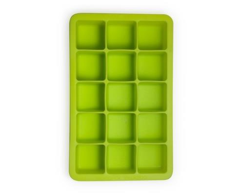 Eisform für 15 Eiswürfel (grün) / Ice Cube Tray 3.1cm x 3.1cm